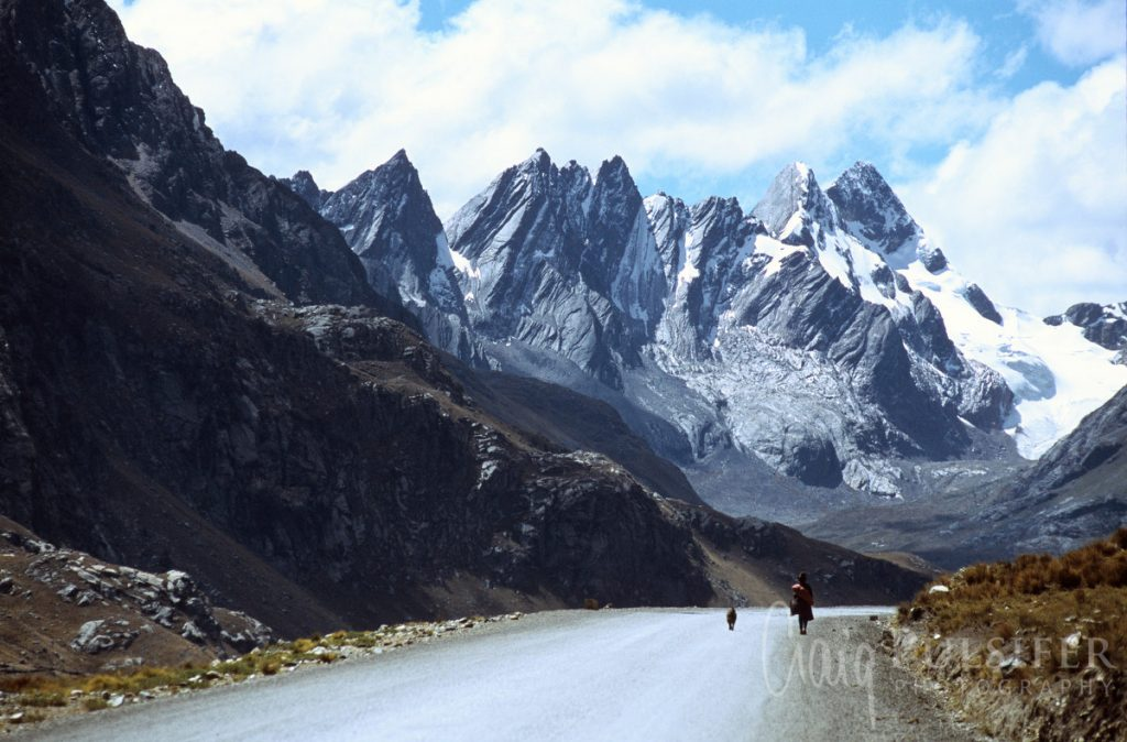 Rugged and barren, Peru's Andes mountains are quite literally breathtaking.